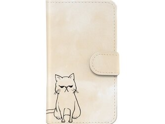 *ぶちゃいく猫*iPhoneケース*の画像