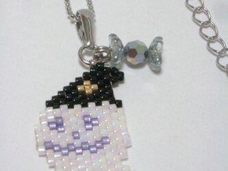 ハロウィンネックレス(Silver)☆おばけ☆の画像