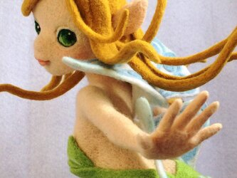 羊毛フェルト「妖精」[送料無料]の画像