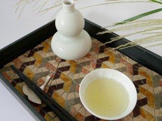 茶流 SALUT L-tray 『Y』Autumn color:月見バージョンの画像