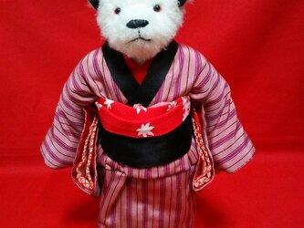 歌舞伎テディベア 町娘の画像