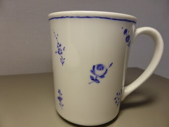 ポーセリンペイント 手描きマグカップ4の画像