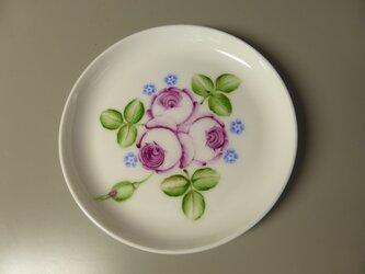 ポーセリンペイント 手描きの小皿1の画像