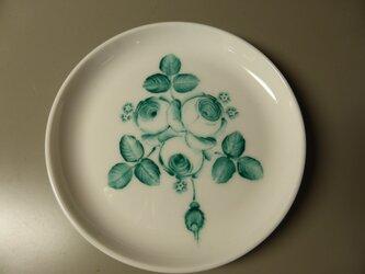 ポーセリンペイント 手描きの小皿8の画像