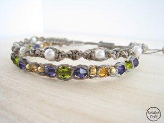 Autumn color braceletの画像