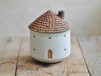 家のお湯のみ(レンガ)の画像
