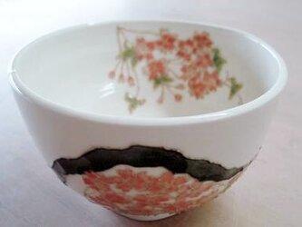 花の器 抹茶碗 桜の画像