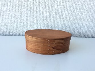 Shaker Oval Box #1 - Cherryの画像