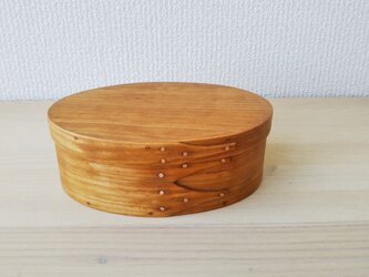 Shaker Oval Box #2 - Cherryの画像