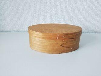 Shaker Oval Box #2 - Cherryの画像