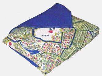 古地図が好き♪ 江戸古地図インテリア風呂敷の画像