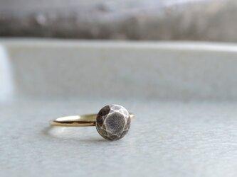 鈍色の石  Ring  (SV・K10)の画像