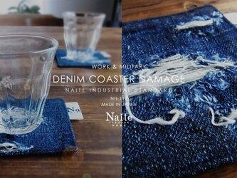 デニムコースター ダメージ / Denim coaster damageの画像
