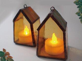 ちいさいおうちのちいさい灯り(フォレストグリーン)の画像