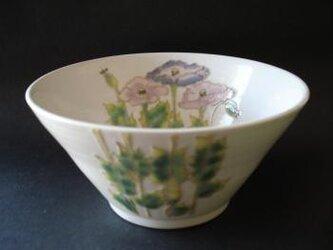 花の器 碗 ポピーパステルの画像