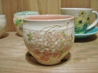 花の器 蓋物 桜の画像