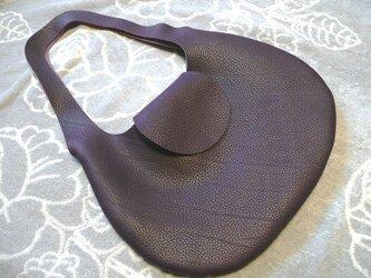 革の袋【新作・大型】トリヨン有機デザインのバッグ NEW!の画像