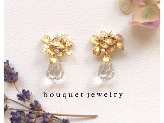 【flower bouquet shower】pierce & earringの画像