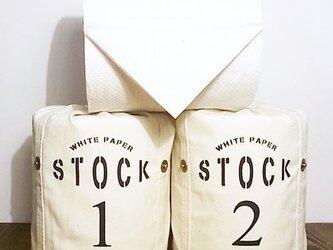 トイレットペーパーホルダー / White paper stockの画像