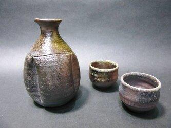 唐津焼メ酒器セットの画像