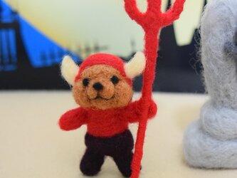 お菓子欲しさに魔界からやってきたデーモンコグマの画像