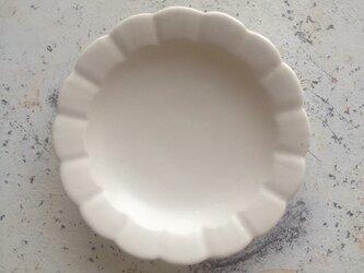 白花小皿の画像