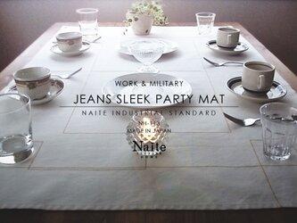 テーブルクロス / Jeans sleek party matの画像