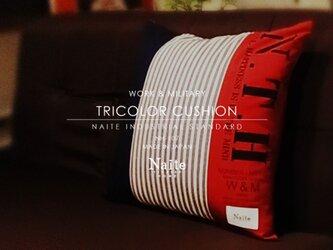 クッション / Tricolor cushionの画像