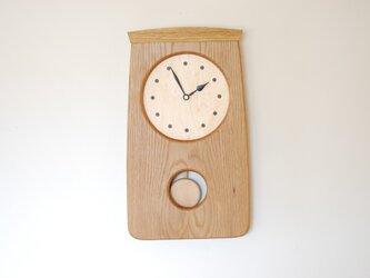 N様ご注文 オークの振り子時計の画像