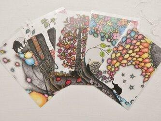 ポストカード5枚セット Aの画像