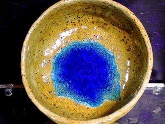 茶碗 銘「百合瑠璃1」の画像