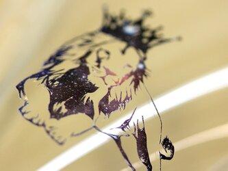iphone7 TPU ソフトケース 宇宙 ライオン 王冠 スマホケースの画像