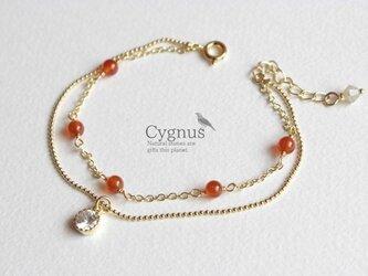 cygnus/カーネリアンAAA 7月誕生石の画像