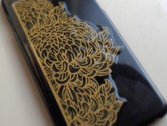 【order】菊 * iPhone、スマホカバー各種の画像