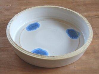 青ガラス鉢の画像