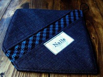 オーブングローブ / Wool check oven gloveの画像