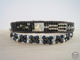 "Beading bracelet ""Shooting star""の画像"