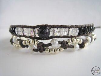 """Beading bracelet """"Universe""""の画像"""