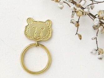 熊キーホルダーの画像