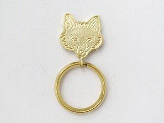 狐キーホルダーの画像