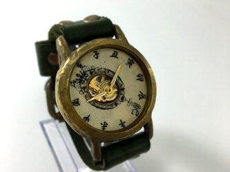 手作り和時計 手鏡(てかがみ)の画像