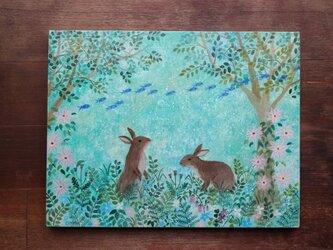 絵画「幻想の森」の画像
