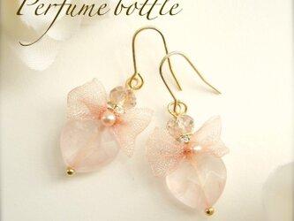 Perfume bottle 【ROSE】ピアス・イヤリングの画像