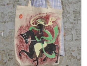 シルクロードのエコバッグの画像