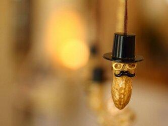 ピーナッツおじさん ネックレスの画像