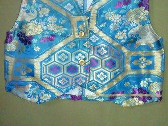 着物リサイクル 帯ベスト 金糸の画像
