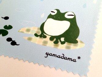 【再販】yamadama*めがね拭き(カエル)の画像