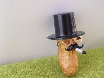 ピーナッツおじさん ちょい悪 ブローチの画像