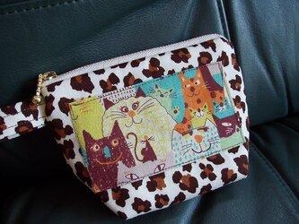 ミニポーチ ~レオパード屋敷の猫ちゃんたち~の画像