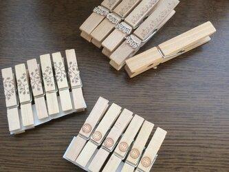 木製ピンチ②の画像